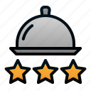 good, cloche, rating, restaurant, food, quality icon