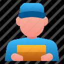 avatar, cafe, delivery, food, man, restaurant