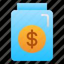 bottle, cafe, dollar, money, restaurant, tips