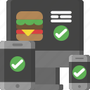 adaptive, delivery, food, food delivery, responsive, shipping, takeaway icon
