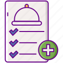 delivery, food, new, order icon
