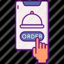 food, order, phone