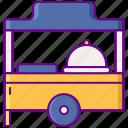 food, pop, restaurant, up icon