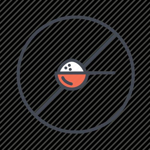no salt, no sugar, salt free, sodium free, sugar free, unsweetened icon