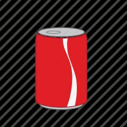 beverage, can, coke, cola, diet coke, soda, soft icon