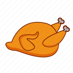 chiken, cooking, dinner, eating, food, meat icon