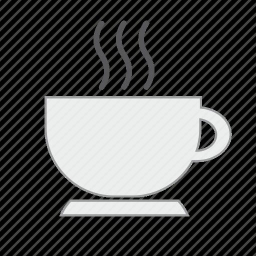 beverage, coffee, cup, drink, hot, mug, tea icon