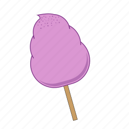 candy, candy floss, cotton candy, dessert, lollipop, sweet, sweets icon