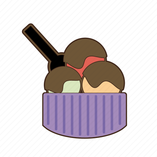 chocolate, cream, ice cream, icecream, sugar, sweet, sweets icon