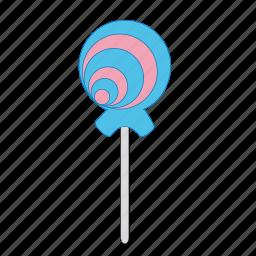 candy, cream, dessert, lollipop, sugar, sweet, sweets icon