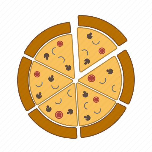 fast food, food, italian food, pizza, restaurant, slice icon
