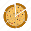 fast food, food, italian food, pizza, restaurant, slice icon