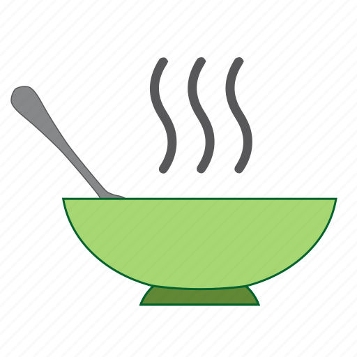 bowl, food, grub nosh, hot, slop, soup icon