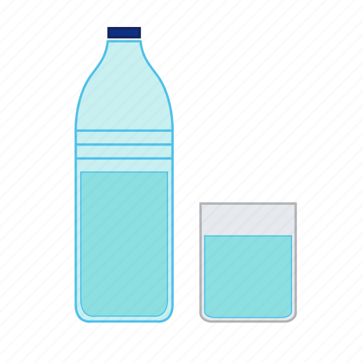 bib, bottle, drink, glass, quaff, thirsty, watter icon