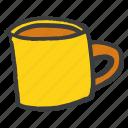 beverage, coffee, cup, drink, glass, juice, mug icon