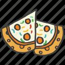 cheese, delicious, food, italian, junk, pizza icon