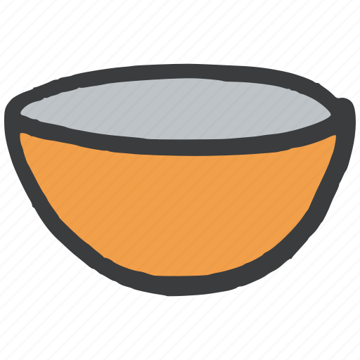 bowl, cook, cup, kitchen, serve, vessel icon