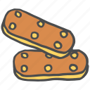 biscuit, chocolate, cookie, dessert, sugar, sweet, treat icon