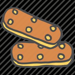 biscuit, chocolate, cookie, dessert, sugar, sweet, treat icon