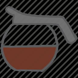 beverage, caffeine, coffee, drink, hot, jug, pot icon