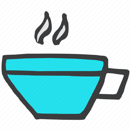 beverage, coffee, cup, drink, hot, kitchen, tea icon