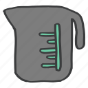 appliance, boiler, jar, kitchen, measure, vessel, water icon