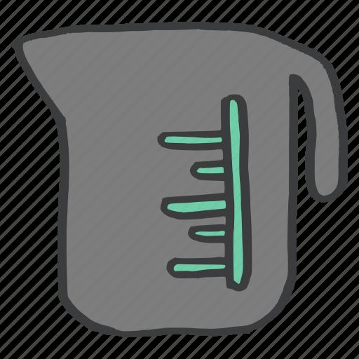appliance, boiler, jar, kitchen, measure, vessel, water icon