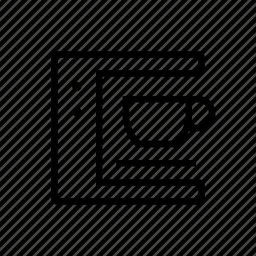 coffee, drink, kitchen, machine icon