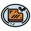 food, grilled, meat, steak icon