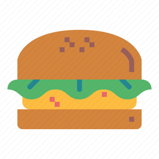 fast, food, hamberger, junk icon