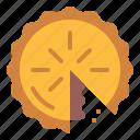 bakery, dessert, food, pie icon