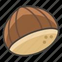 1f330, chestnut