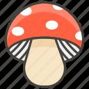 1f344, a, mushroom icon