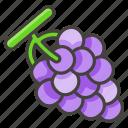 1f347, grapes