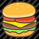 1f354, hamburger