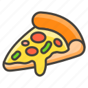 1f355, pizza icon