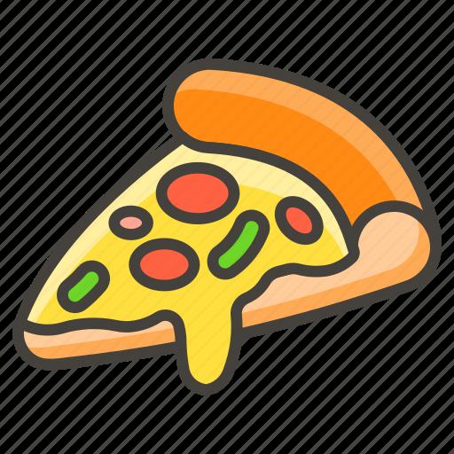 1f355, pizza icon
