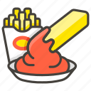 food, french fries icon