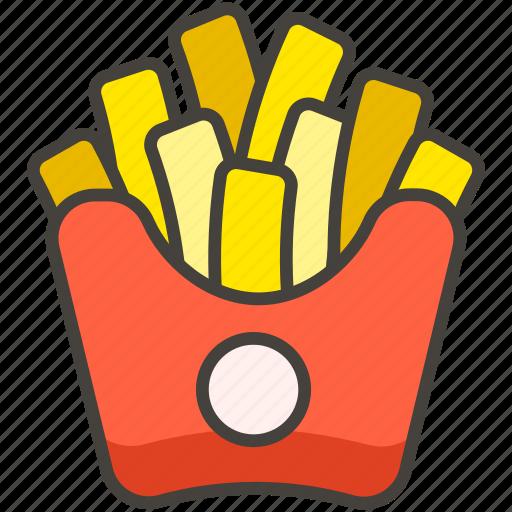 1f35f, b, french, fries icon