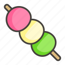 1f361, dango icon