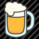 1f37a, beer, mug icon