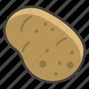1f954, potato icon