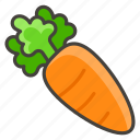 1f955, carrot icon