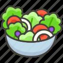 green, 1f957, salad