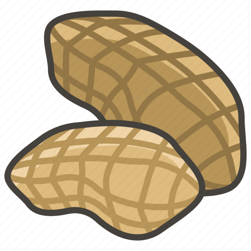 1f95c, peanuts icon