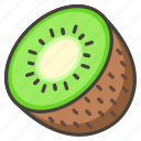 1f95d, fruit, kiwi icon