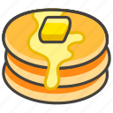1f95e, pancakes