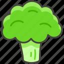 1f966, broccoli icon