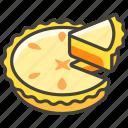1f967, a, pie icon