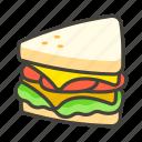 1f96a, sandwich icon
